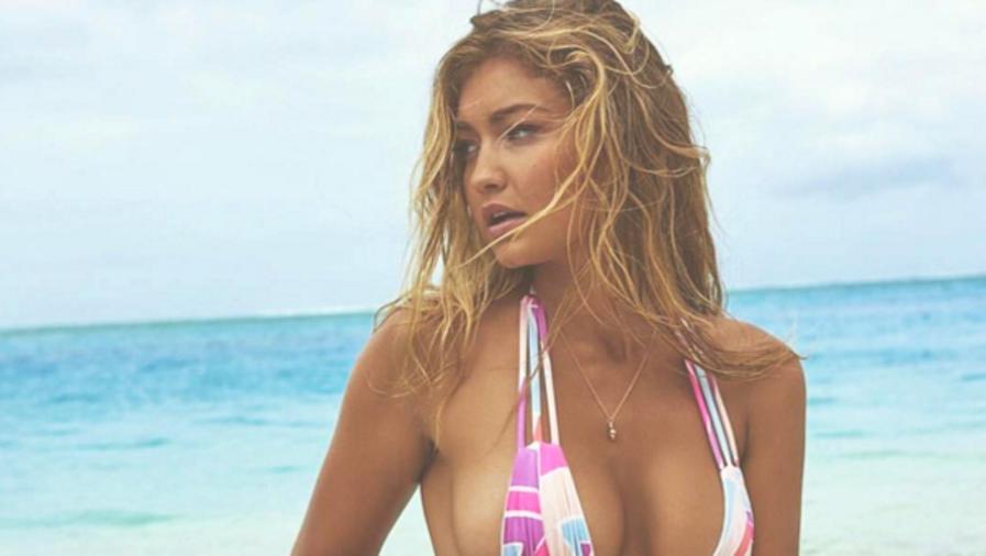 Gigi Hadid posa en bikini