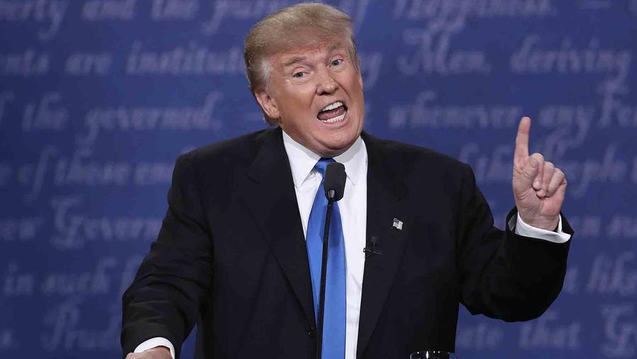 Donald Trump en el primer debate 2016