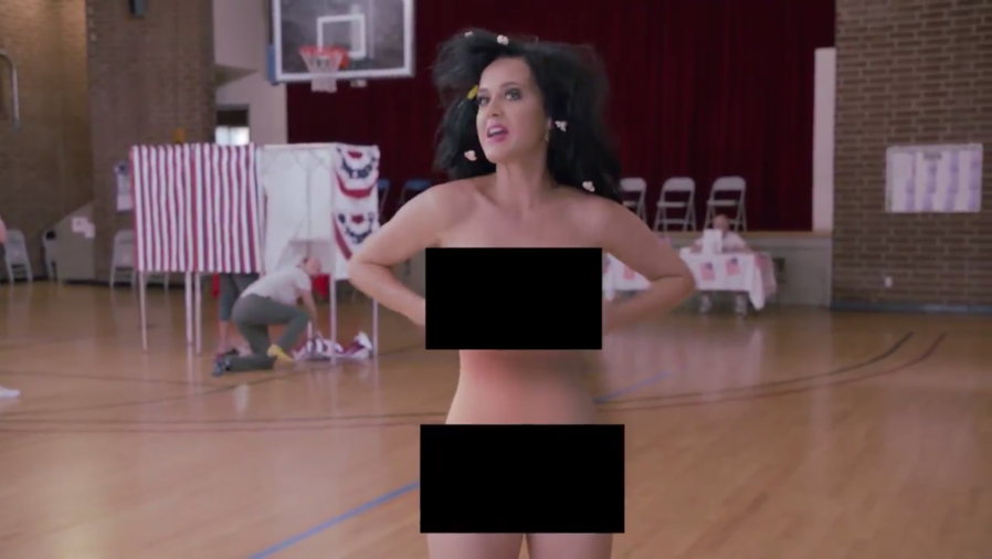 Katy Perry en el video de Funny or Die