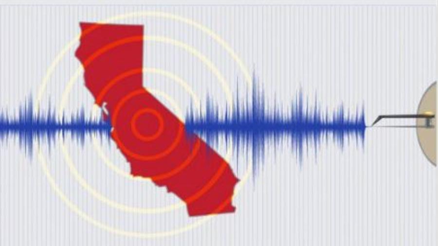 grafico de un terremoto