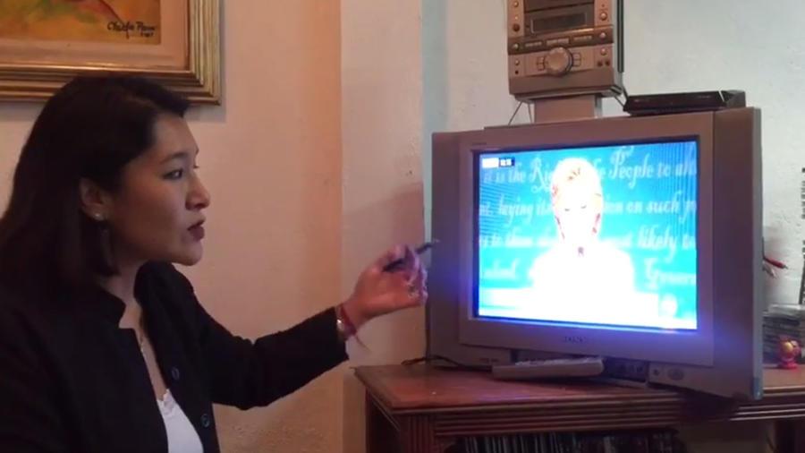 Adriana González analiza lenguaje corporal de Hillary Clinton y Donald Trump