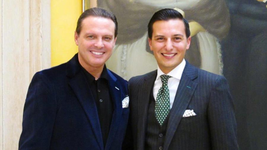 Luis Miguel y Nicolas Bijan