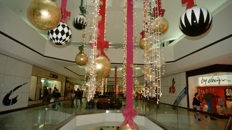 Christmas Decorations at Shopping Mall