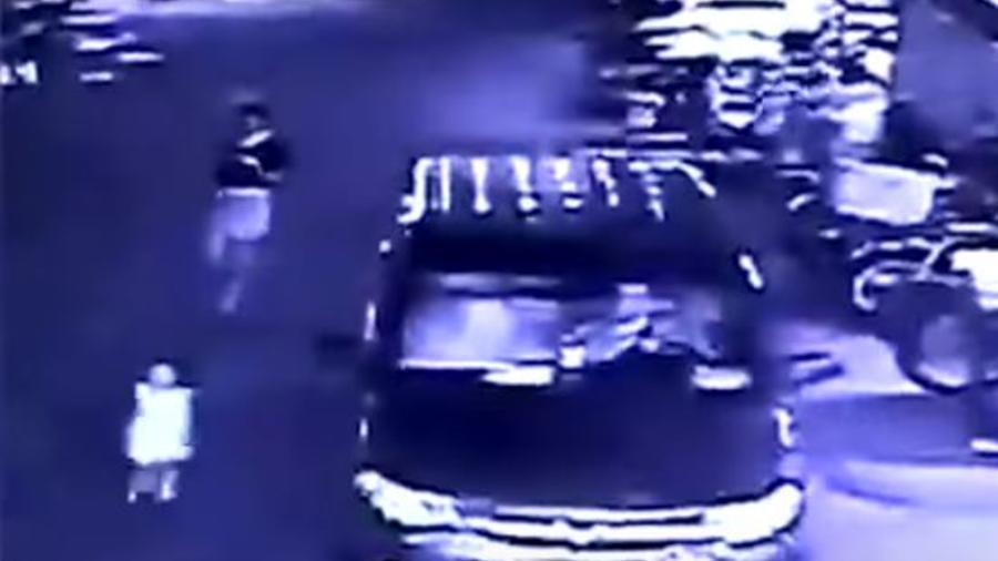 Video de niña china atropellada