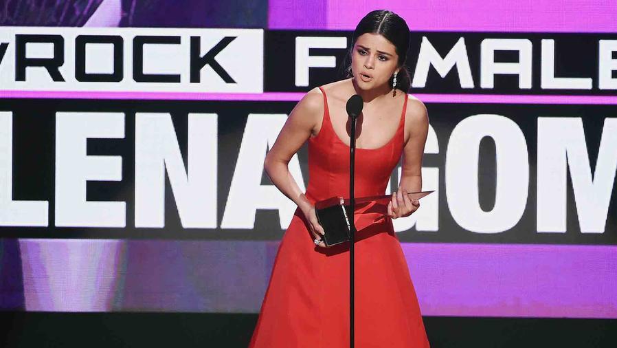 Selena Gomez en los American Music Awards