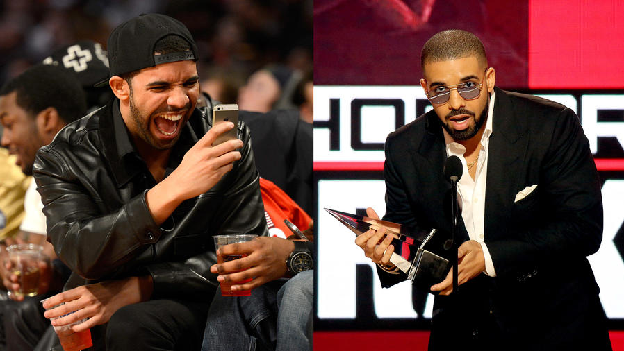 Drake throws shade in his AMAs speech