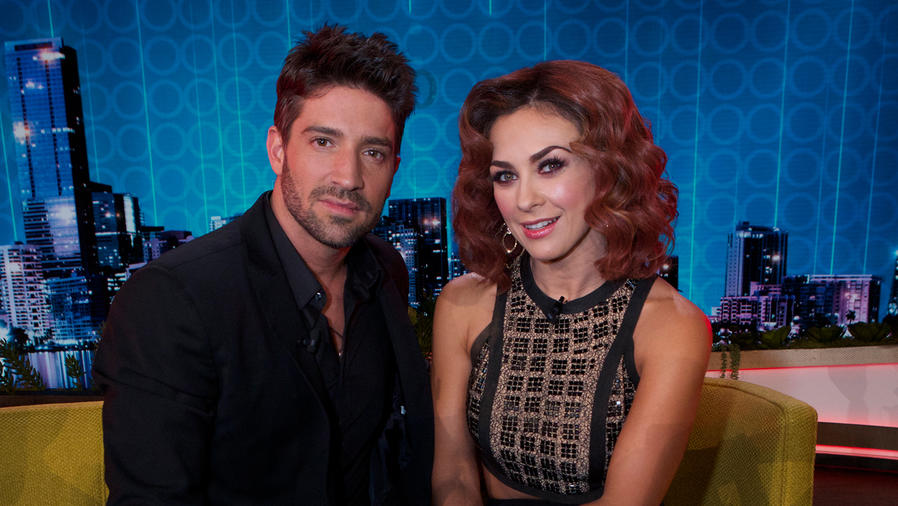 David Chocarro y Aracely Arámbula