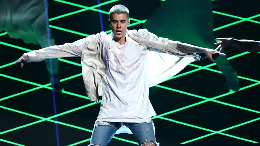 Justin Bieber en los Billboard Music Awards
