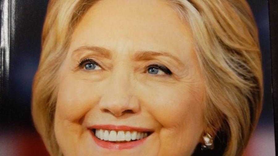 Portada de Newsweek con Clinton como presidenta