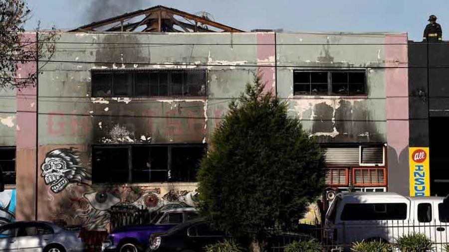 incendio mortal en disco en oakland