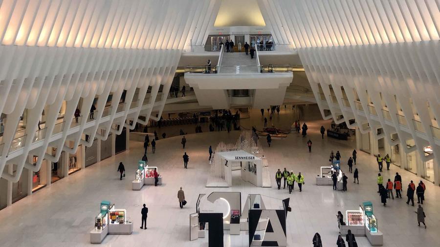 Estación Oculus del WTC en NYC