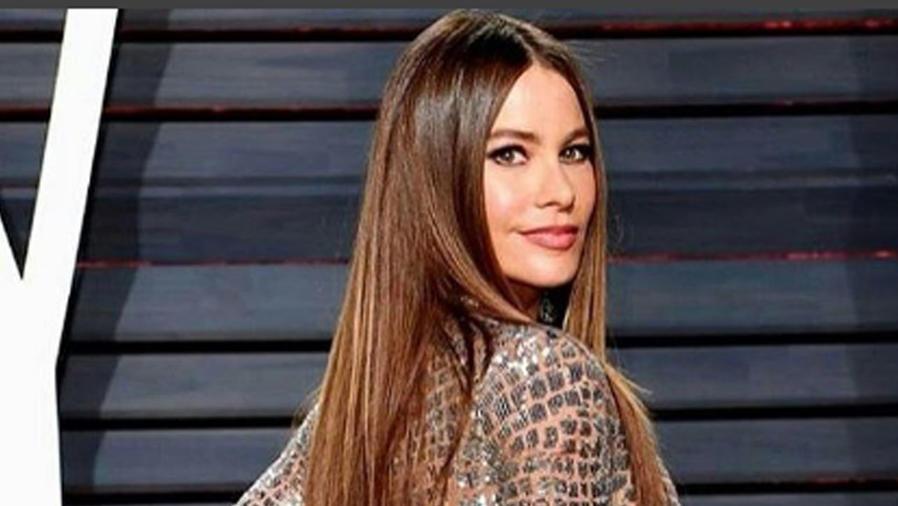 Sofía Vergara en la fiesta de Vanity Fair