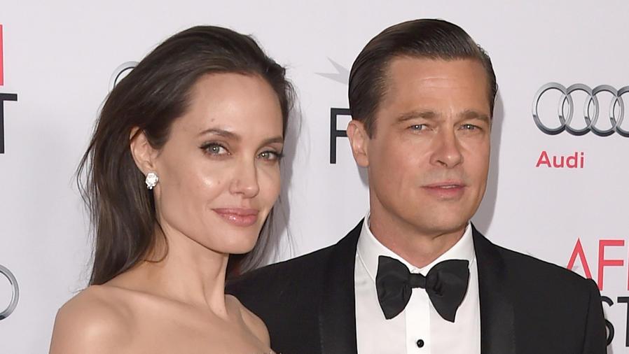 Angelina Jolie y Brad Pitt en AFI Fest