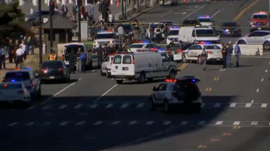 Policía tiroteó a mujer que intentó atropellar a varios agentes en el DC