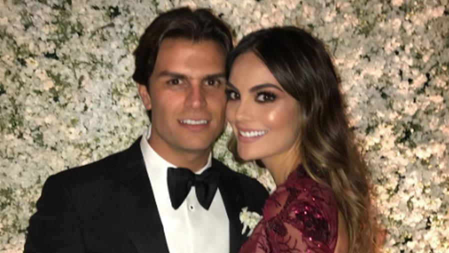 Ximena Navarrete y su novio Juan Carlos Valladares