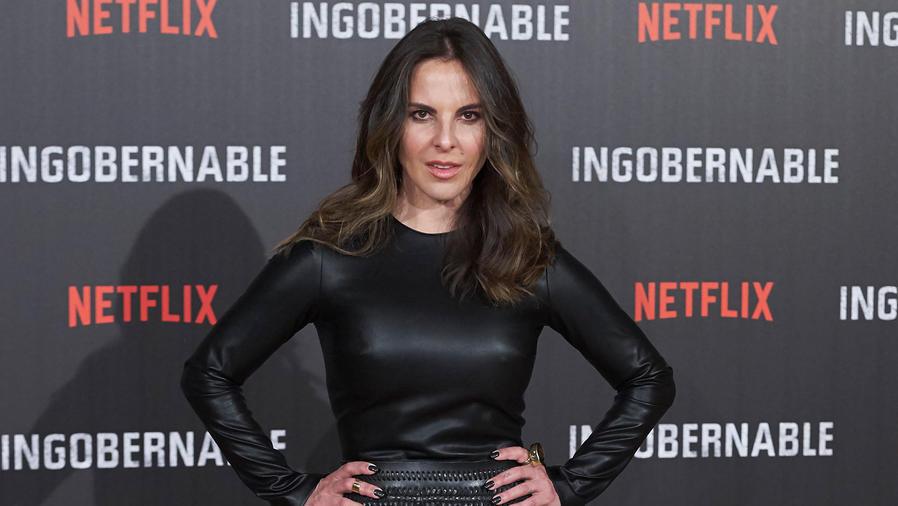 Kate del Castillo en la alfombra roja de Ingobernable