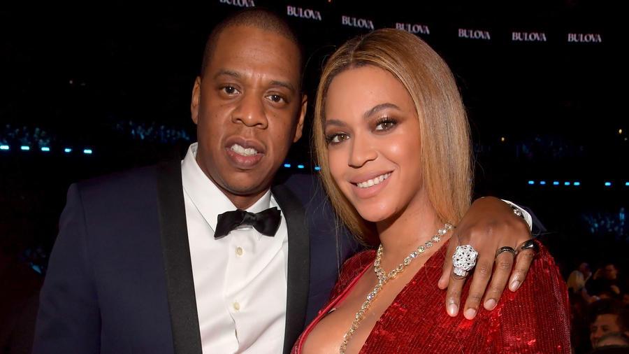 Jay Z y Beyoncé en los Grammy Awards 2017