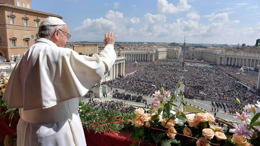 El papa Francisco celebró el Jueves Santo con un mensaje de amor, paz y unidad