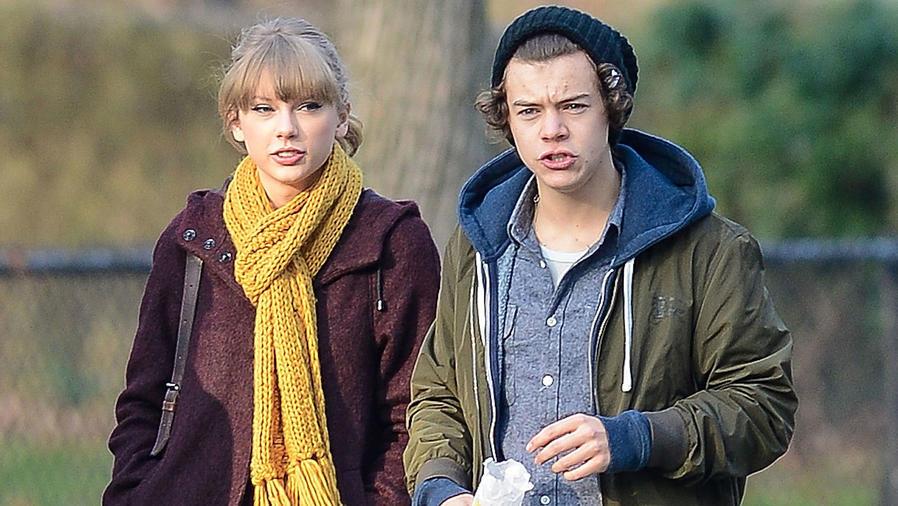 Harry Styles y Taylor Swift en Central Park