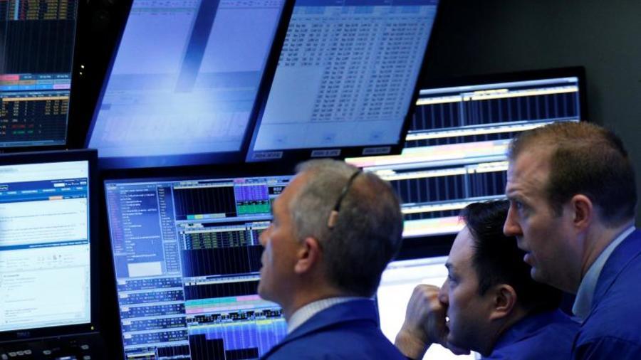 New York Stock Exchange (NYSE) en Nueva York el 20 de abril de 2017