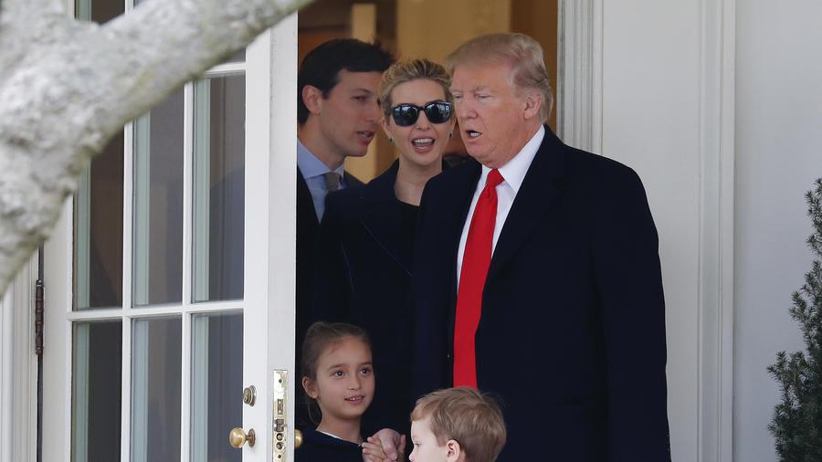 Donald Trump,Joseph Kushner,Arabella Kushner,Jared Kushner,Ivanka Trump
