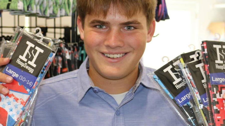 Brennan Agranoff, adolescente con empresa de calcetines