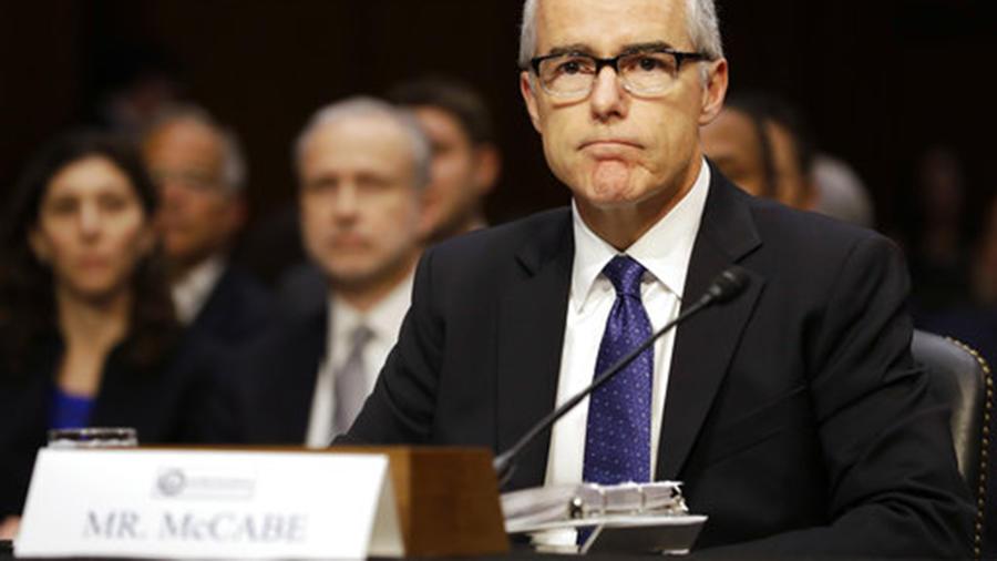 El exdirector del FBI, Andrew McCabe.