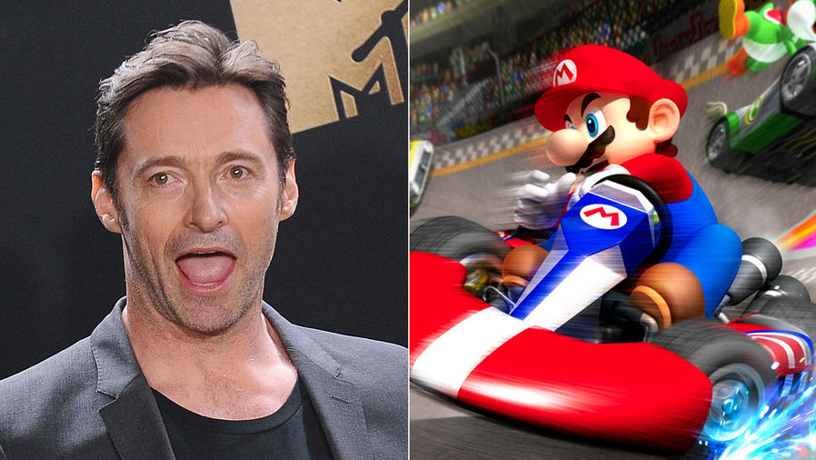 Hugh Jackman; Mario Kart