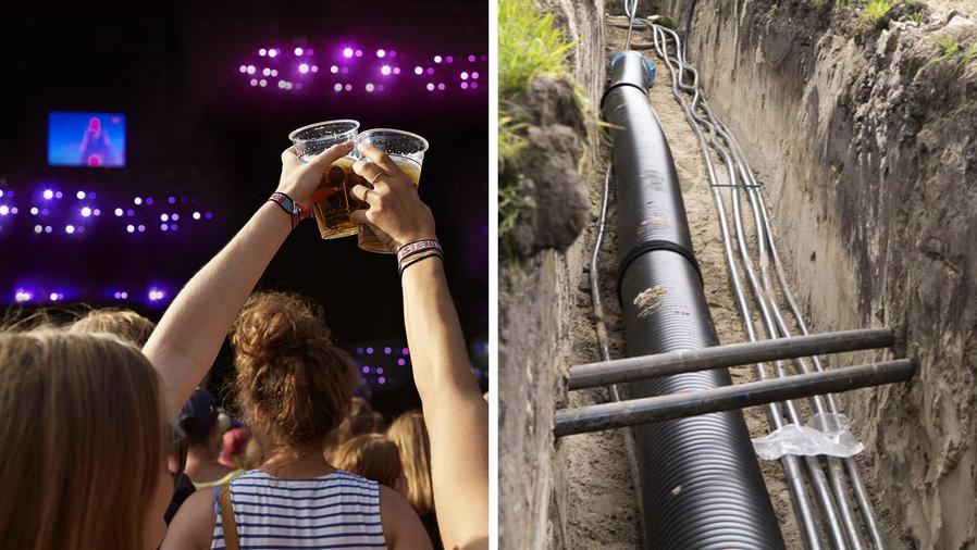 En el festival de heavy metal Wacken Open Air se consume mucha cerveza