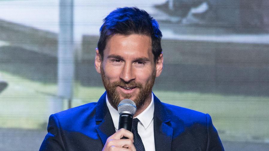 Lionel Messi en China