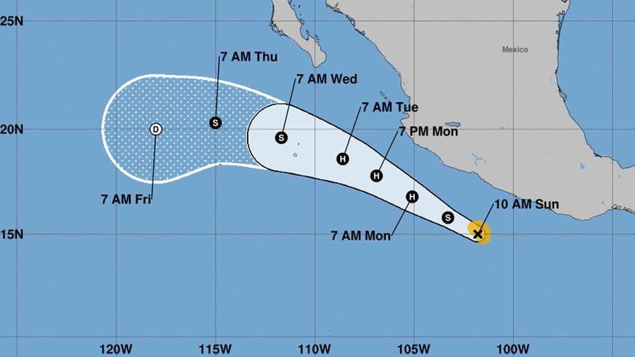 Tormenta tropical Dora