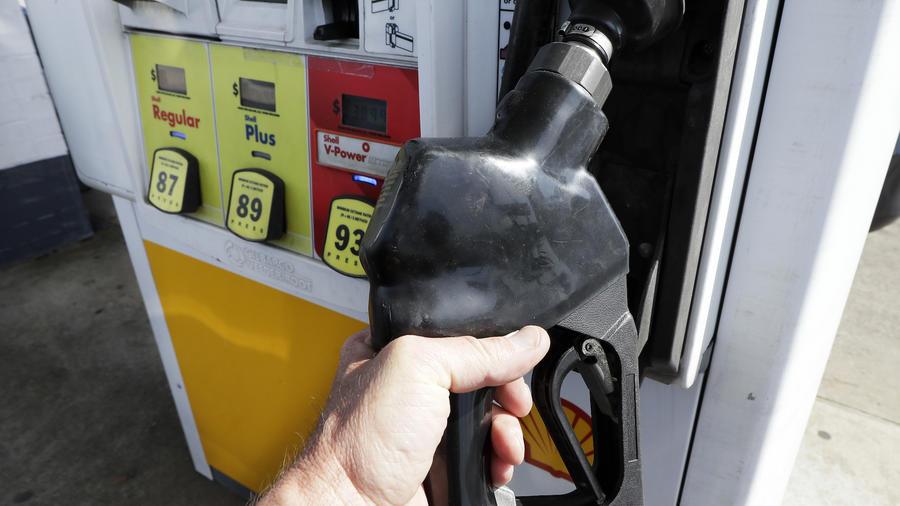 Gasolinera en Nashville, el pasado abril.