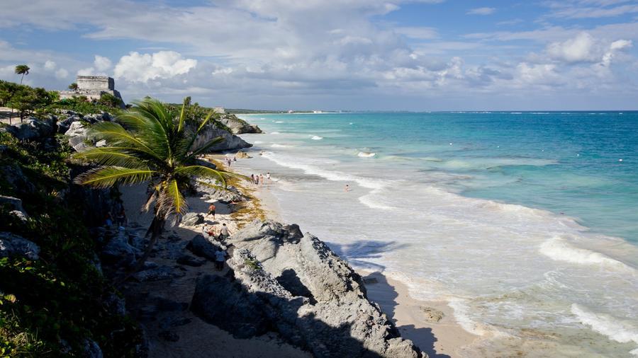Tulum, zona exclusiva del estado de Quintana Roo en México.