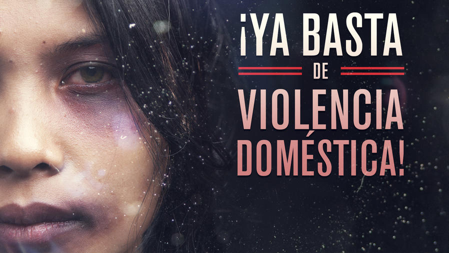 Ya basta de violencia doméstica