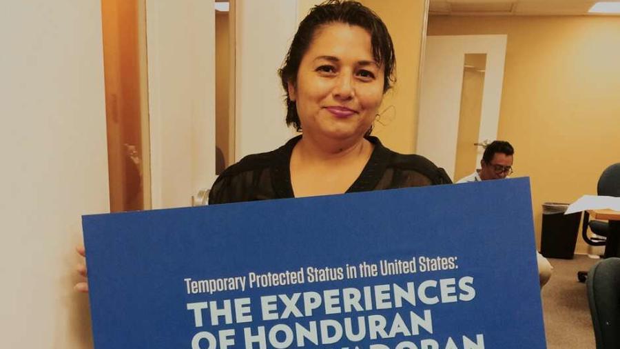 Marchas en LA por TPS de Haitianos y centroamericanos