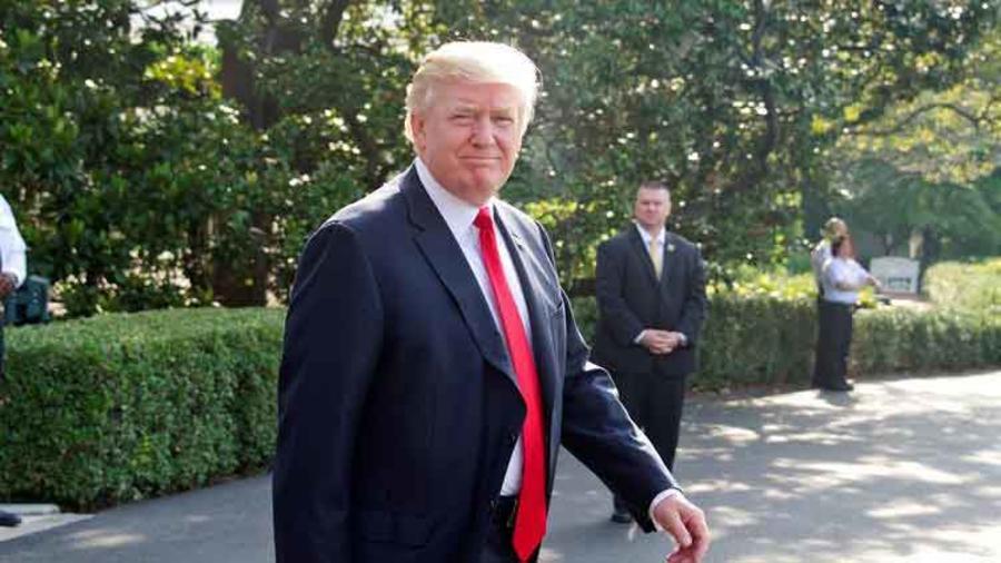 Trump se dirige al portaaviones Gerald Ford hoy sábado 22 de julio