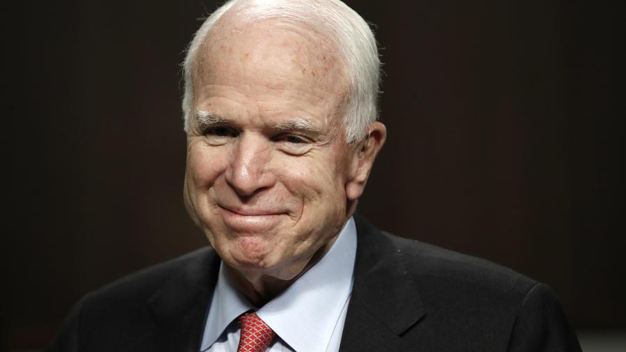 John McCain, en Washington el 11 de julio.