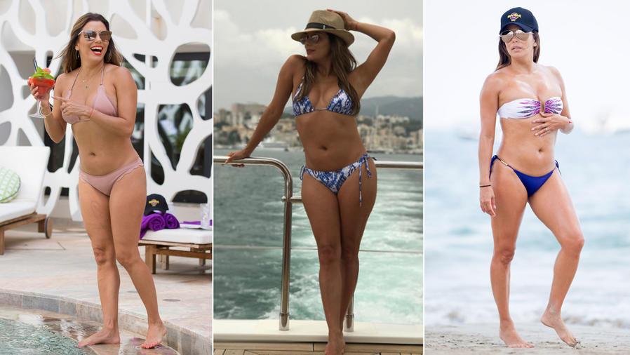 Eva Longoria en bikini