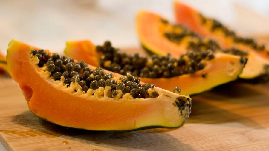 Foto genérica de papayas