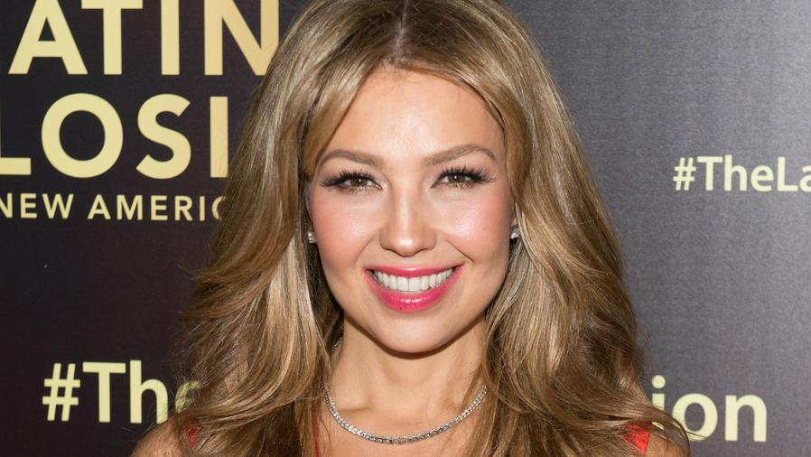 Thalía en los premios Latinos