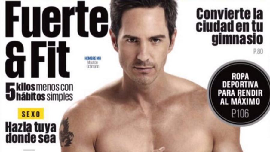 Mauricio Ochmann en la portada de la revista Men's Health.