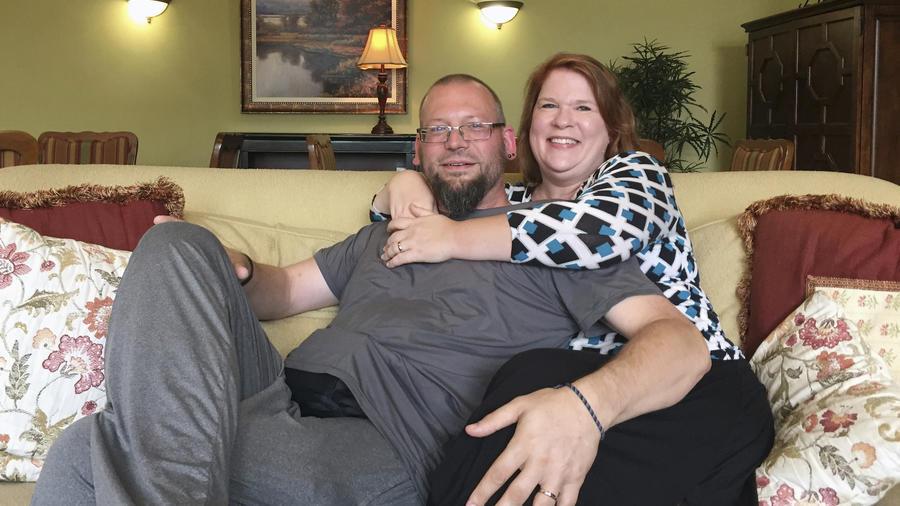 David y Elizabeth Weinlick, este miércoles en su casa de Woodbury, Minnesota.