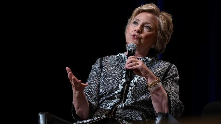 Hillary Clinton en el 'Book Expo' en New York el 1 de junio del 2017
