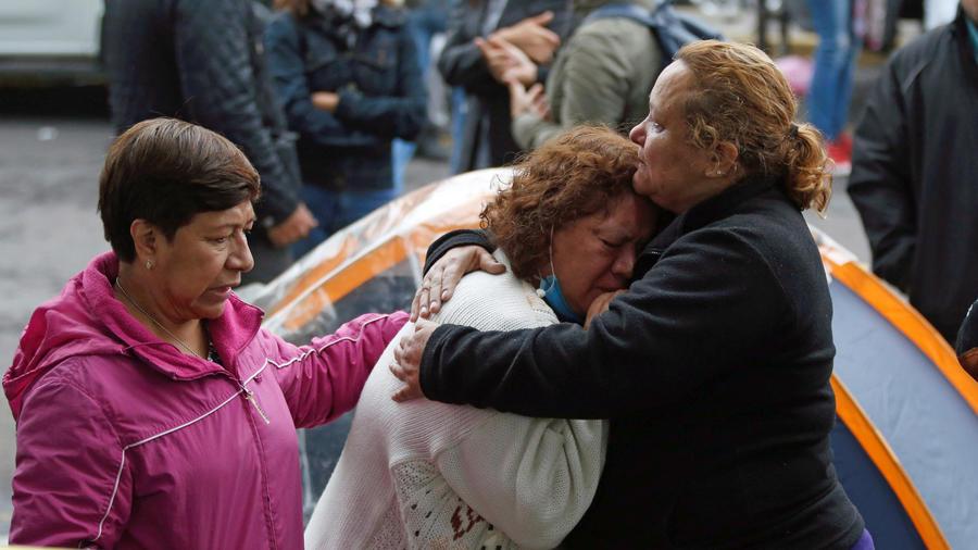 Familiares víctimas