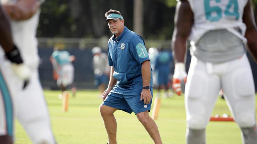 Chris Foerster, durante un entrenamiento en agosto.