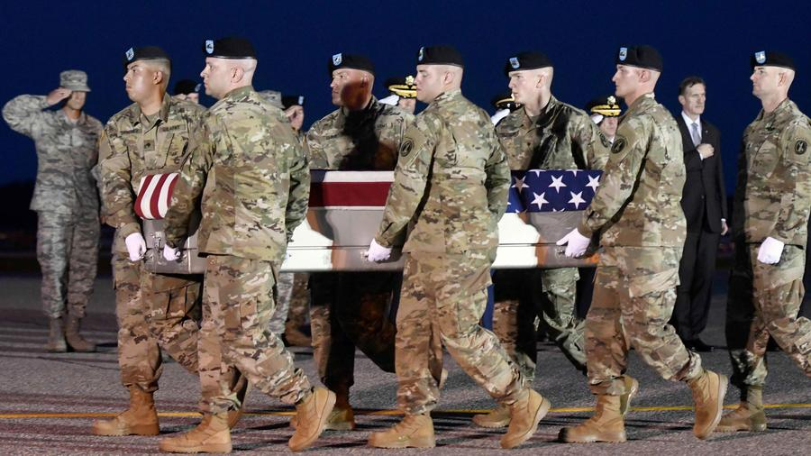 Dillon Baldridge, soldado muerto en Afganistán