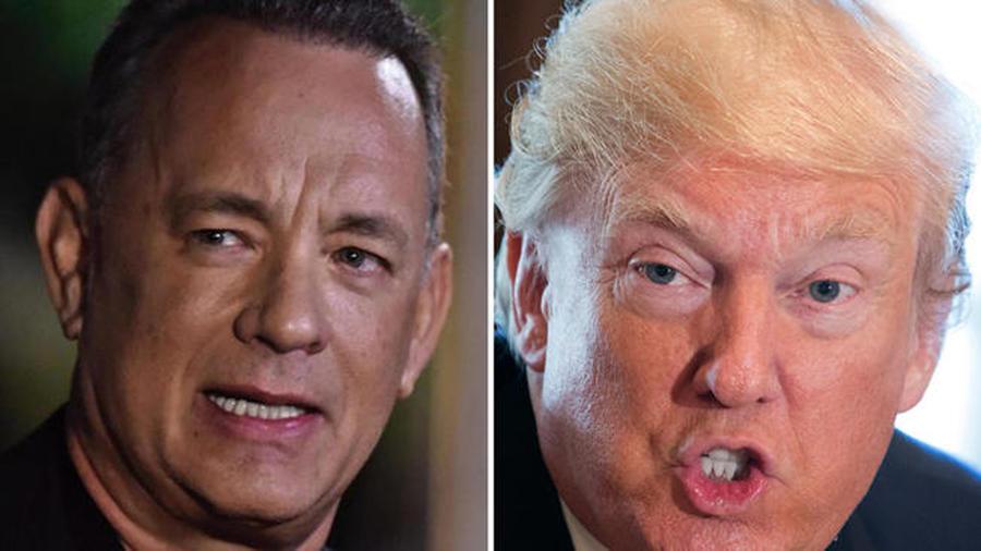 Tom Hanks arremete contra Trump