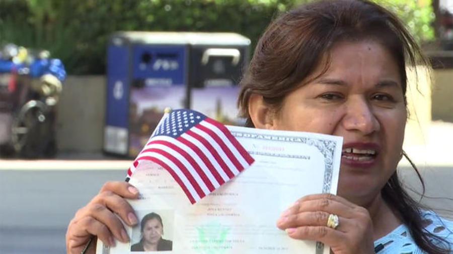 La inmigrante Jovita Méndez. Foto de NBC 7