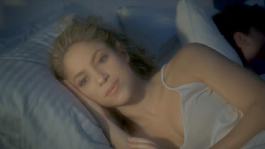 Shakira en el video She Wolf