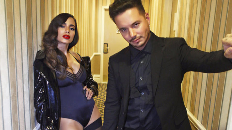 Anitta and J Balvin